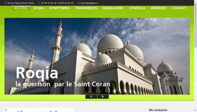 Site internet de Ahmed Morchikh