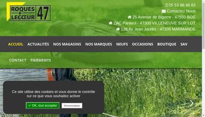 Site internet de Roques et Lecoeur