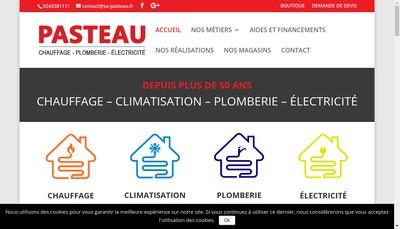 Site internet de Pasteau