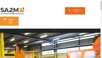 Site internet de Societe Angevine de Menuiserie Metallique