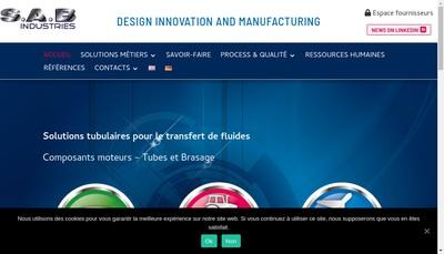 Site internet de Societe d'Assemblage et Brasage