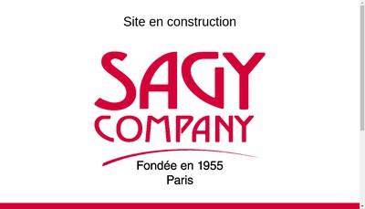 Site internet de Sagy Company