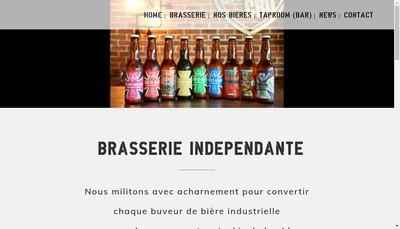 Site internet de SAS Brasserie Sainte Cru