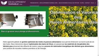 Site internet de Developpement Durable