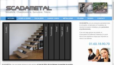 Site internet de Scadametal