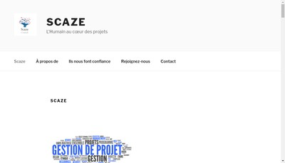 Site internet de Scaze