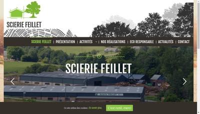 Site internet de Scierie Feillet SARL