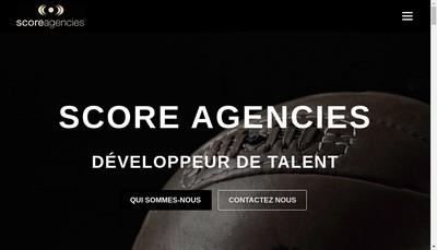 Site internet de Score Agencies