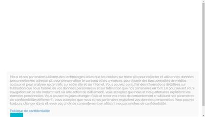 Site internet de MSP Sécurité