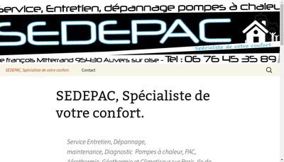 Site internet de Sedepac