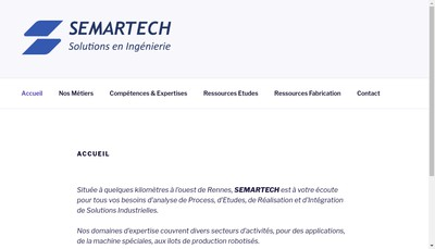 Site internet de Semartech