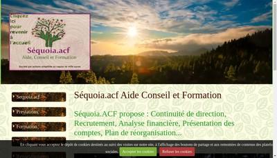 Site internet de Sequoia Acf