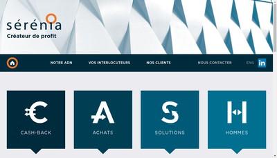 Site internet de Serenia