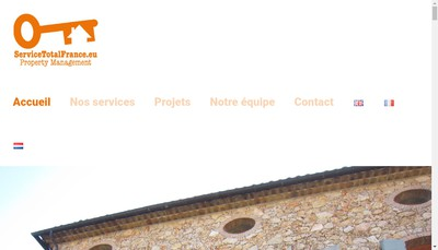 Site internet de Service Total France