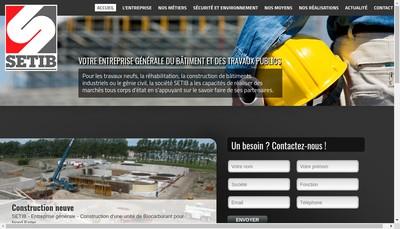 Site internet de Setib