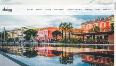 Site internet de Shalom Pratique