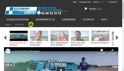 Site internet de Extreme Limite