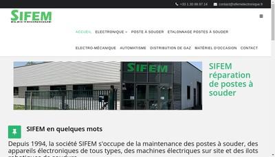 Site internet de Sifem