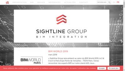 Site internet de Sghtline Group