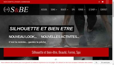 Site internet de Ambre Silhouette