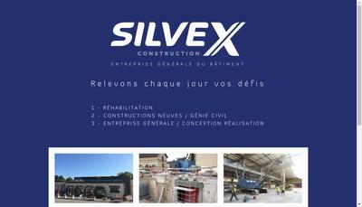 Site internet de Silvex Construction
