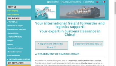 Site internet de Sinodix Group