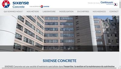 Site internet de Sixense Engineering