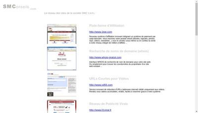 Site internet de Sm Conseils