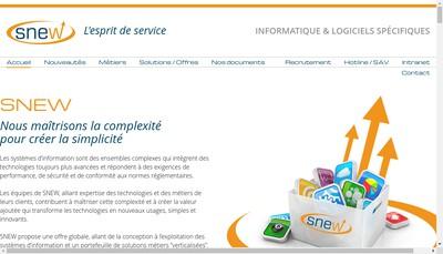 Site internet de Snew