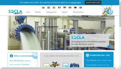 Site internet de Socla