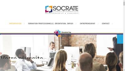 Site internet de Socrate Conseil