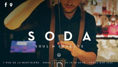 Site internet de Soda