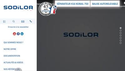 Site internet de Sodilor
