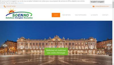Site internet de Soenno