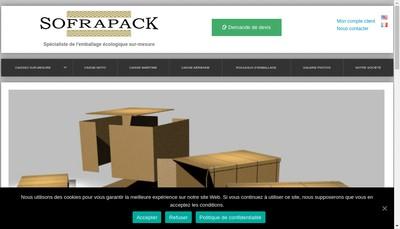 Site internet de Sofracaul Sofrapack