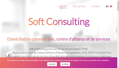 Site internet de Soft Consulting