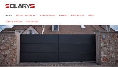 Site internet de Solarys