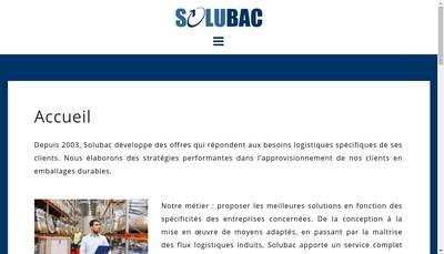Site internet de Solubac