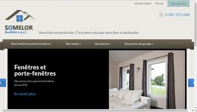 Site internet de Somelor Gueblez