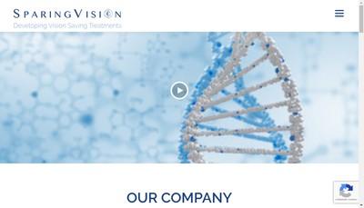 Site internet de Sparingvision