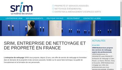 Site internet de SARL Srim Multiservices
