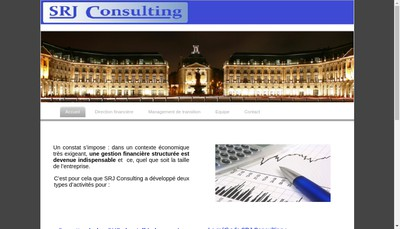 Site internet de Srj Consulting