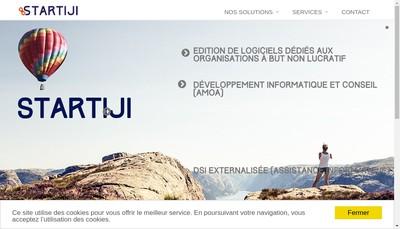 Site internet de Startiji