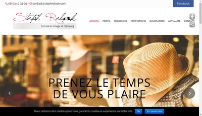 Site internet de Steph Relook
