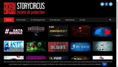 Site internet de Storycircus