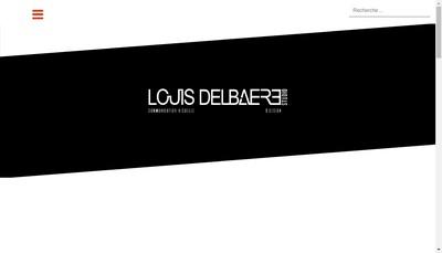 Site internet de Studio Louis Delbaere