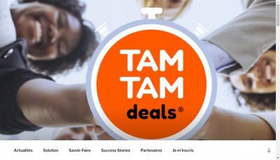 Site internet de Tamtamdeals
