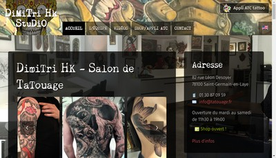 Site internet de Dimitri Tatouage