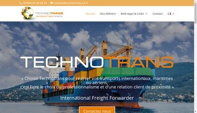 Site internet de Societe Technique Transports Internationaux