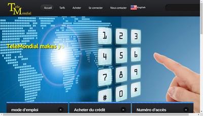 Site internet de Telemondial